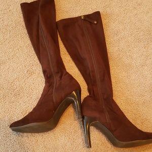 Issac mizrahi Brown boots